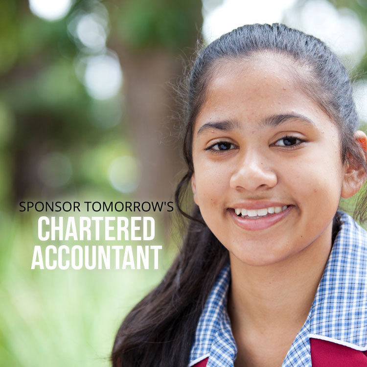 Sponsor a Future Chartered Accountant