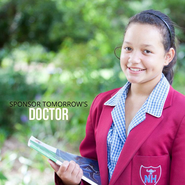Sponsor a Future Doctor