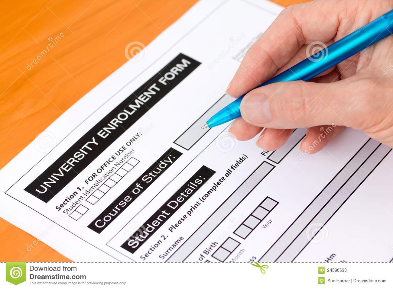 hand-completing-university-application-form-24580633 Victory University Application Form on grambling state, malawi mzuzu, great zimbabwe,